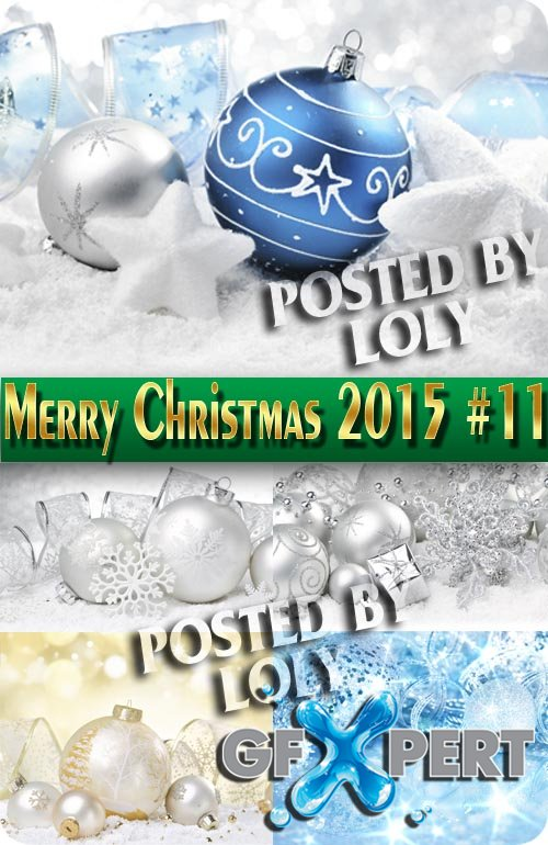 Merry Christmas Designs 2015 #11 - Stock Photo