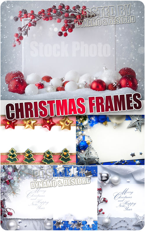 Christmas Frames 5 - UHQ Stock Photo