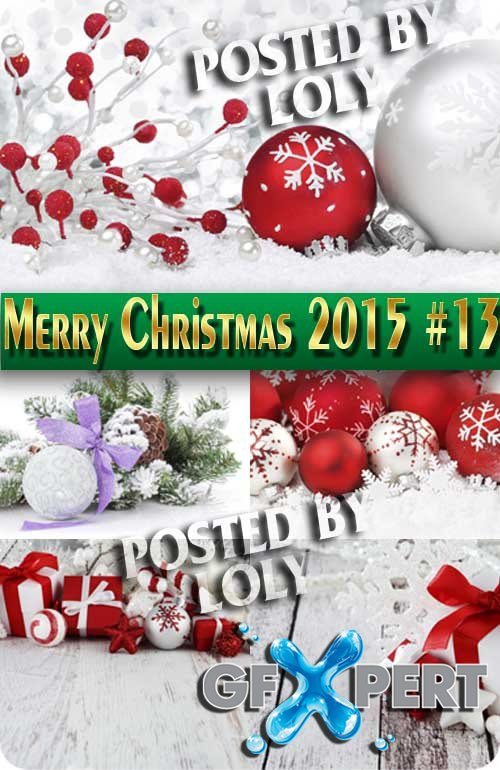 Merry Christmas Designs 2015 #13 - Stock Photo