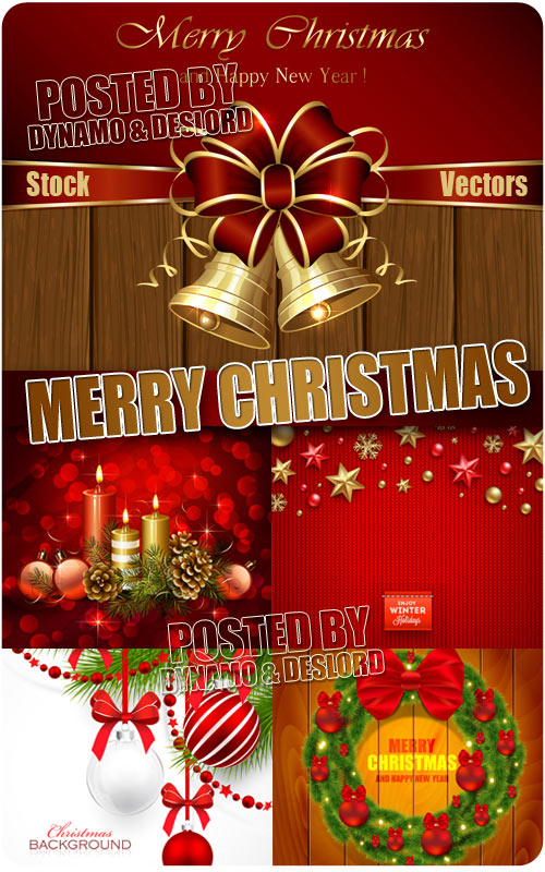 Merry Christmas 6 - Stock Vectors