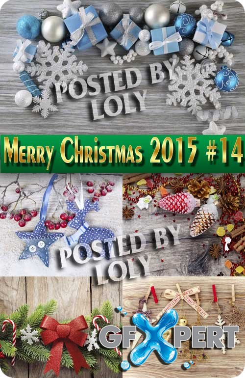 Merry Christmas Designs 2015 #14 - Stock Photo