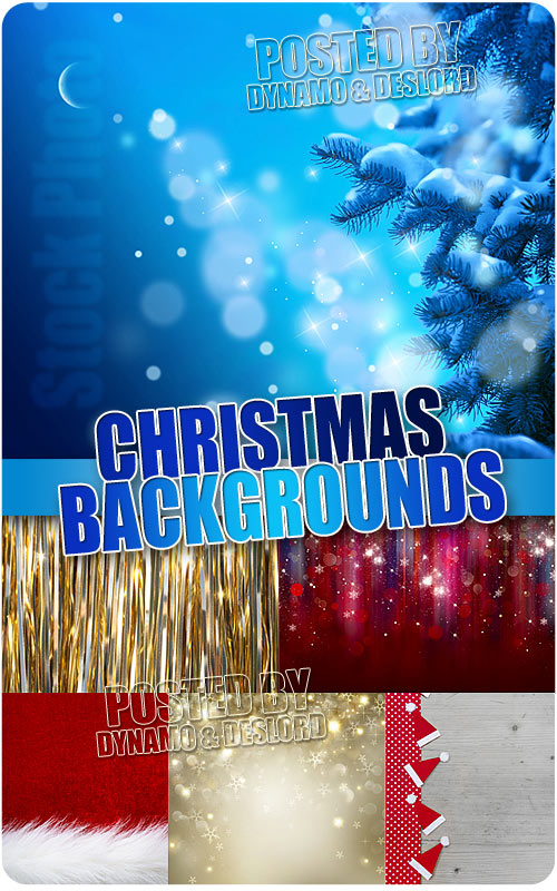 Xmas backgrounds 2 - UHQ Stock Photo