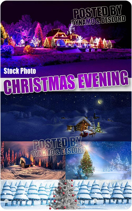 Xmas evening - UHQ Stock Photo