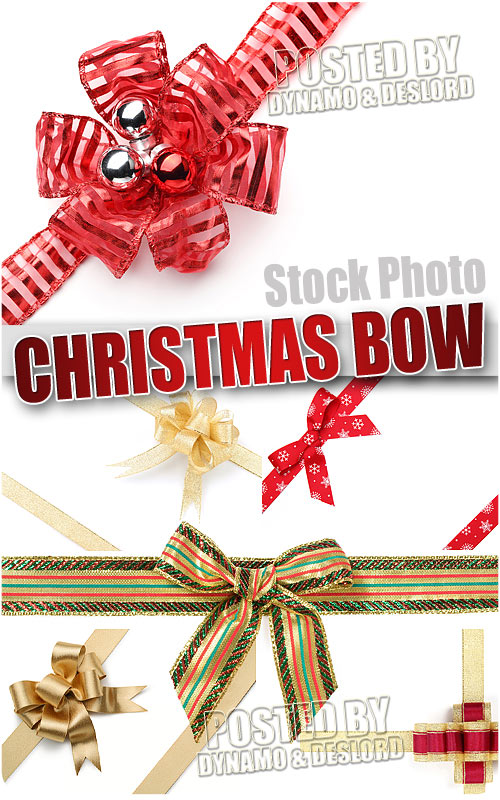 Xmas bows 2 - UHQ Stock Photo