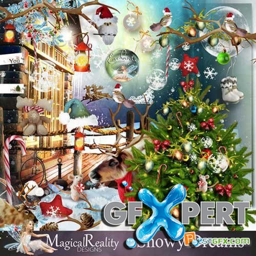 Scrap kit - Snowy Dreams