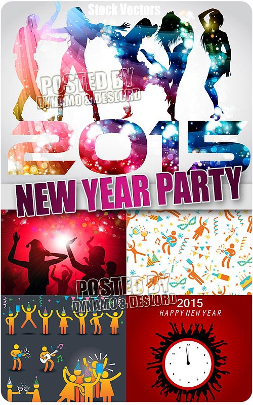 New year party - Stock Vectors