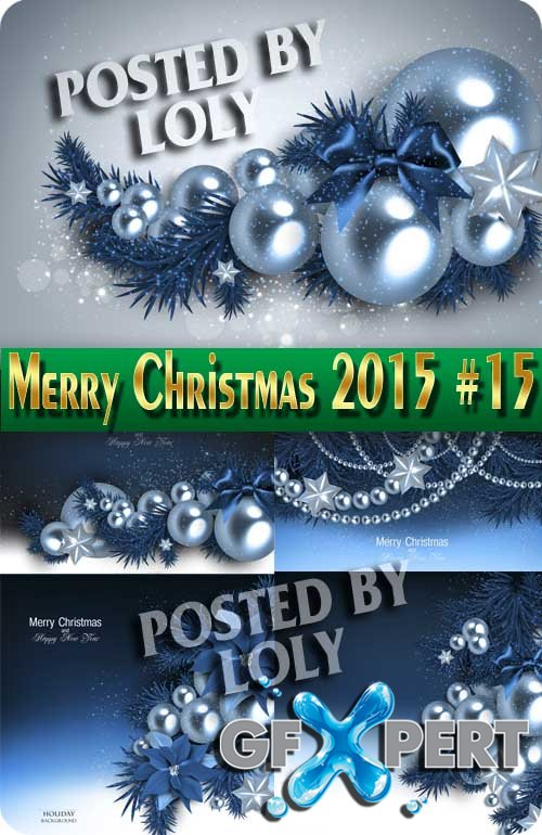 Merry Christmas Designs 2015 #15 - Stock Vector