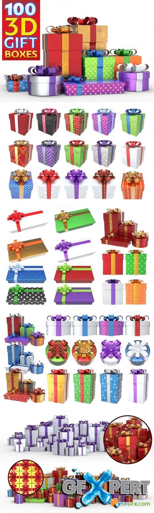 Gift Boxes Pack