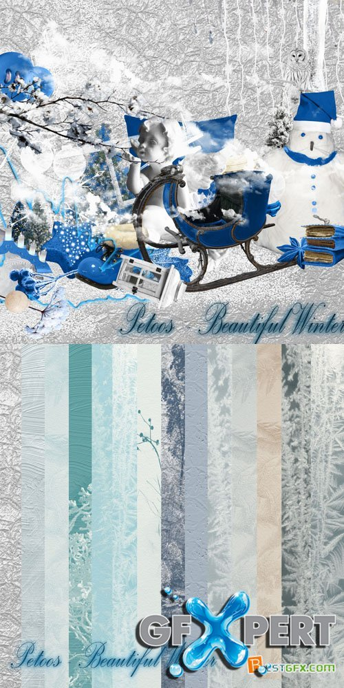 Scrap - Beautiful Winter PNG and JPG