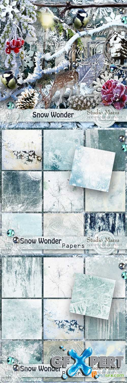 Scrap - Snow Wonder PNG and JPG
