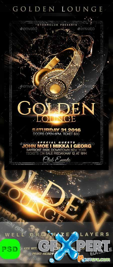 Graphicriver Golden Lounge 9680728