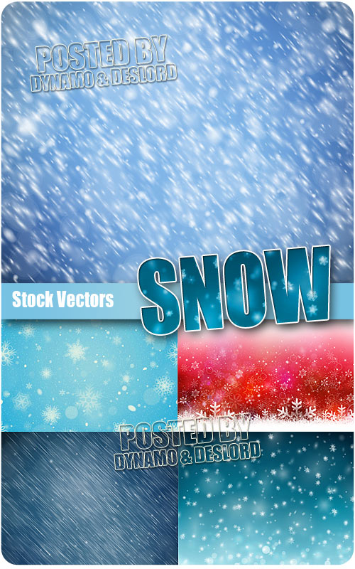 Snow 2 - Stock Vectors