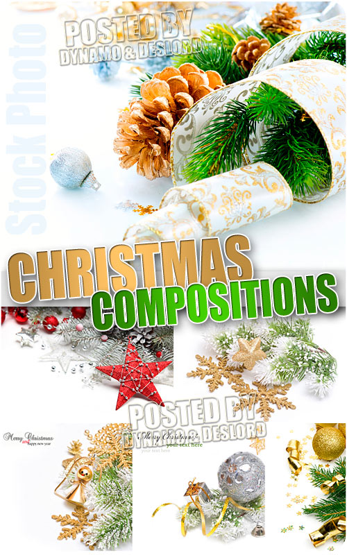 Christmas compositions 8 - UHQ Stock Photo