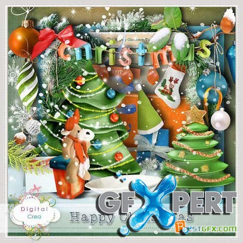 Scrap kit - Happy Christmas