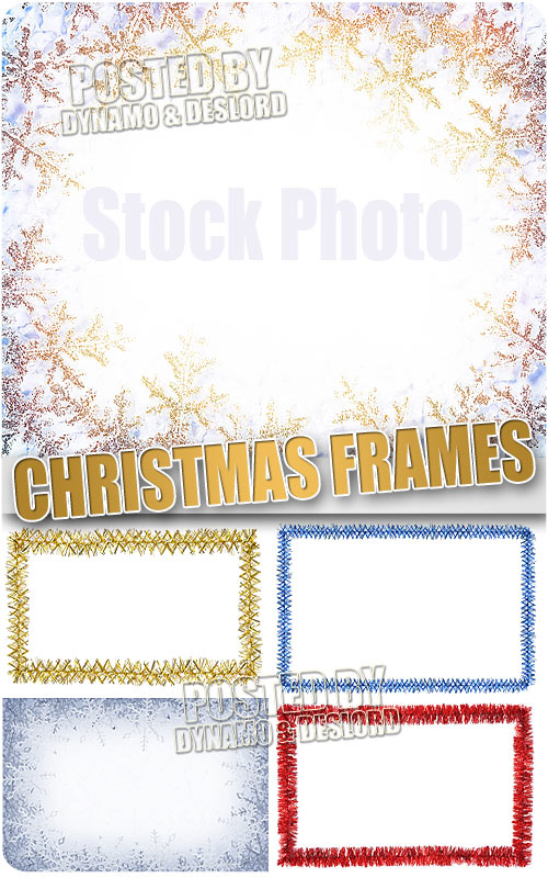 Christmas Frames 7 - UHQ Stock Photo