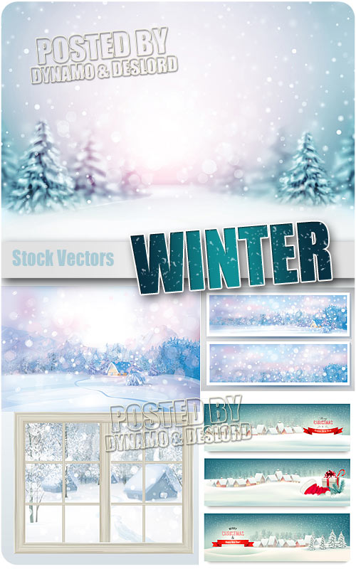 Winter - Stock Vectors