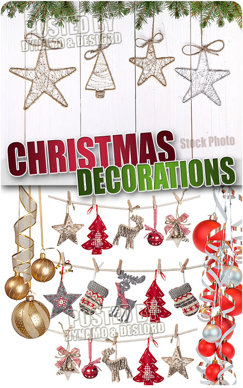 Xmas Decorations - UHQ Stock Photo