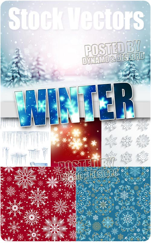 Winter 2 - Stock Vectors