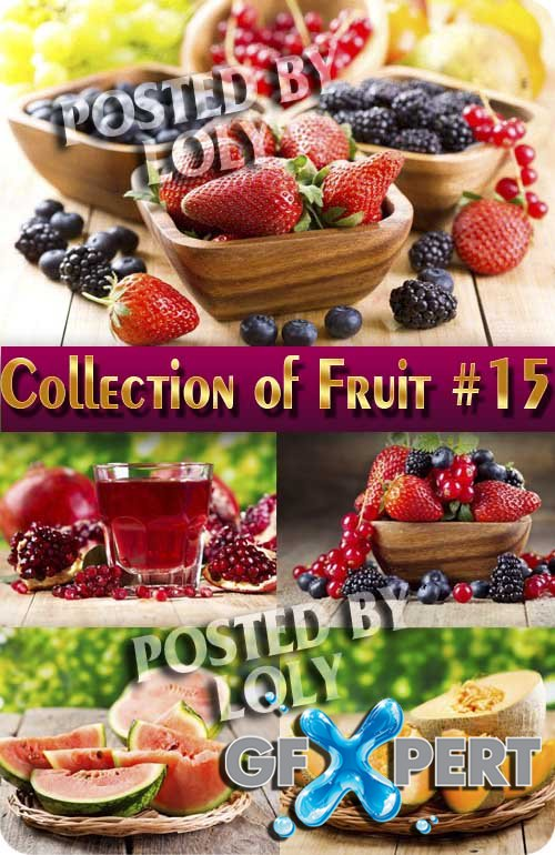 Food. Mega Collection. Fruit #15 - Stock Photo