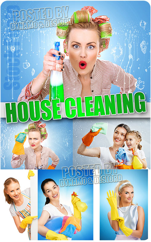 House cleaning - UHQ Stock Photo