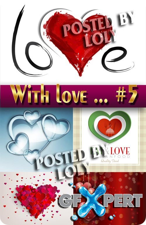 With Love... #5 - Stock Vector