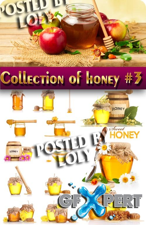 Food. Mega Collection. Honey #3 - Stock Photo
