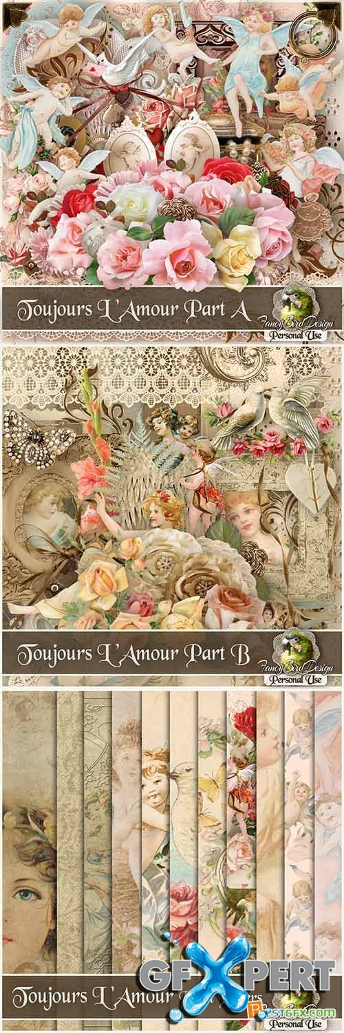 Scrap - Toujours Lamour JPG and PNG