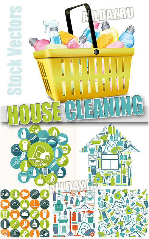 House cleaning - Stock Vectors