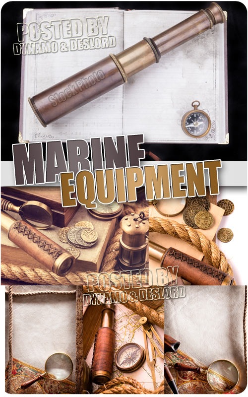 Retro marine equipment - UHQ Stock Photo