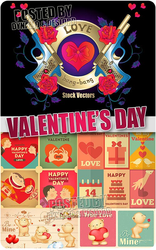 Valentines Day 2 - Stock Vectors