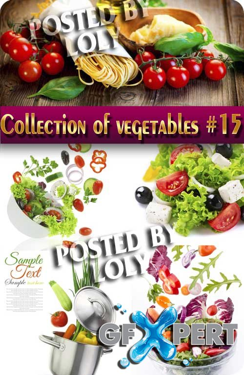 Food. Mega Collection. Vegetables #11 - Stock Photo