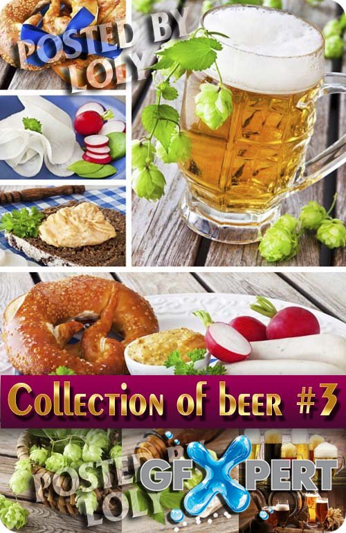 Drinks. Mega Collection. Beer #3 - Stock Photo