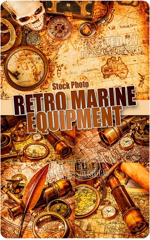 Retro marine equipment 2 - UHQ Stock Photo