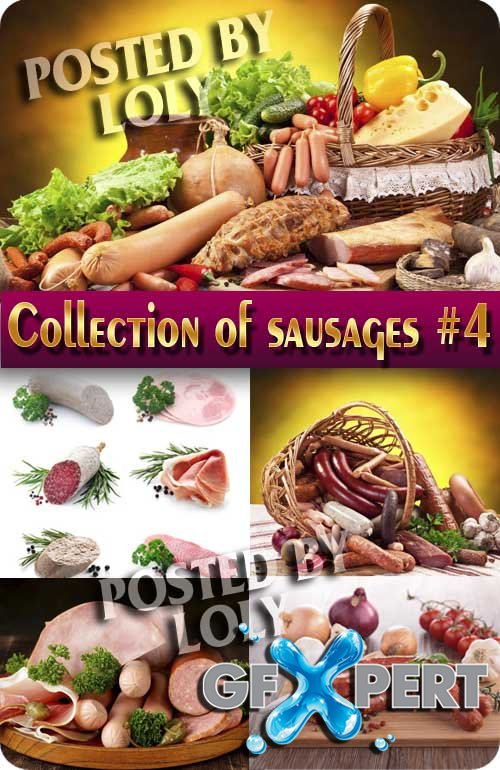 Food. Mega Collection. Sausages #4 - Stock Photo