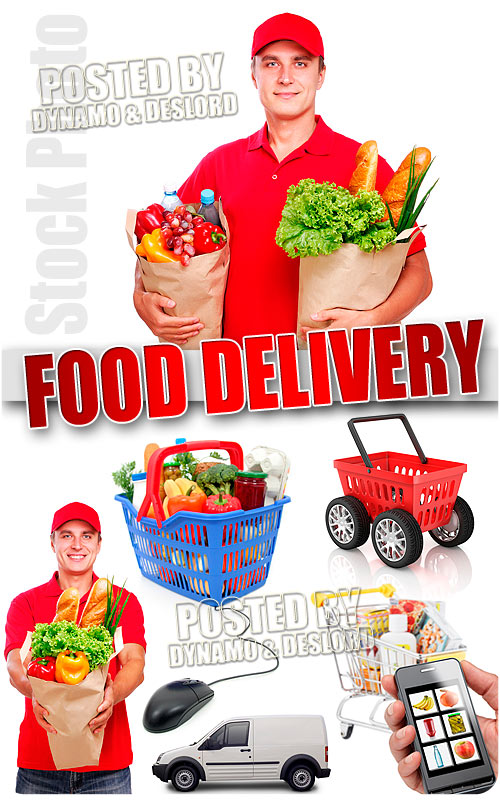 Food Delivery - UHQ Stock Photo