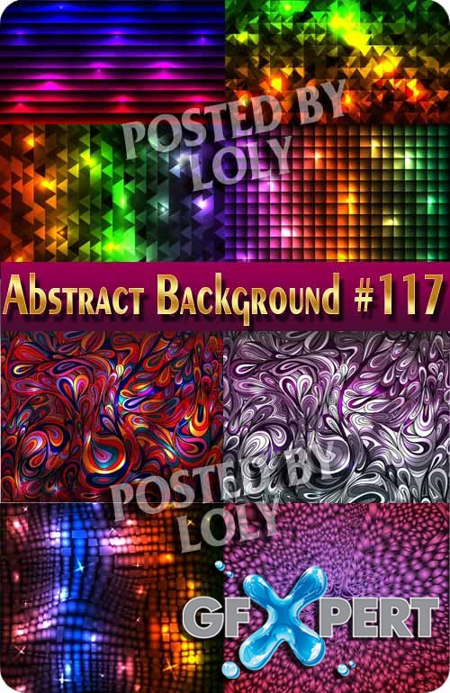 Vector Abstract Backgrounds #117 - Stock Vector