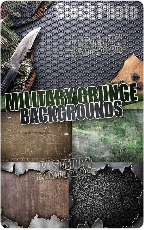 Military grunge background - UHQ Stock Photo