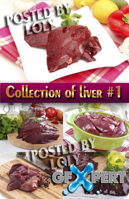 Food. Mega Collection. Liver #1 - Stock Photo