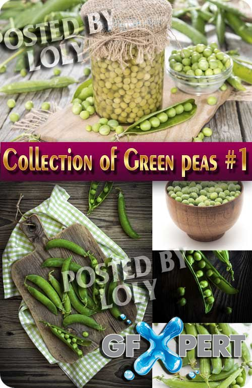Food. Mega Collection. Green peas # 1 - Stock Photo