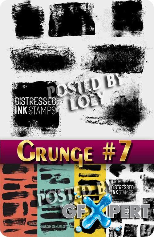 Grunge style #7 - Stock Vector