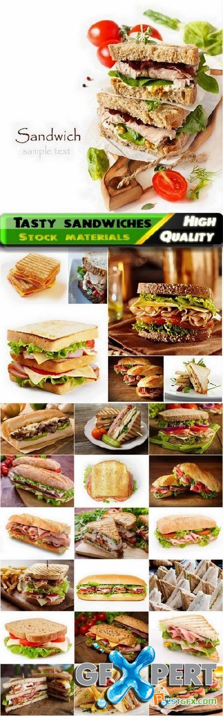 Tasty sandwiches Stock images - 25 HQ Jpg