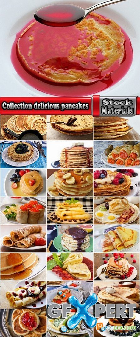 Collection delicious pancakes 25 HQ Jpeg