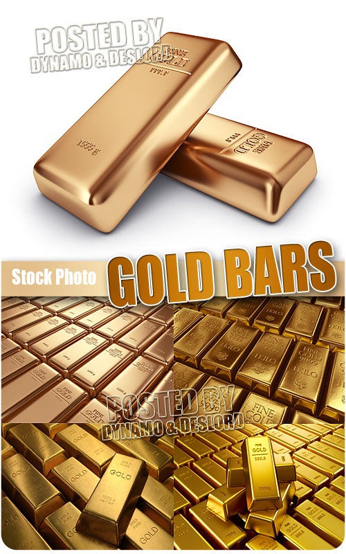 Gold Bars - UHQ Stock Photo