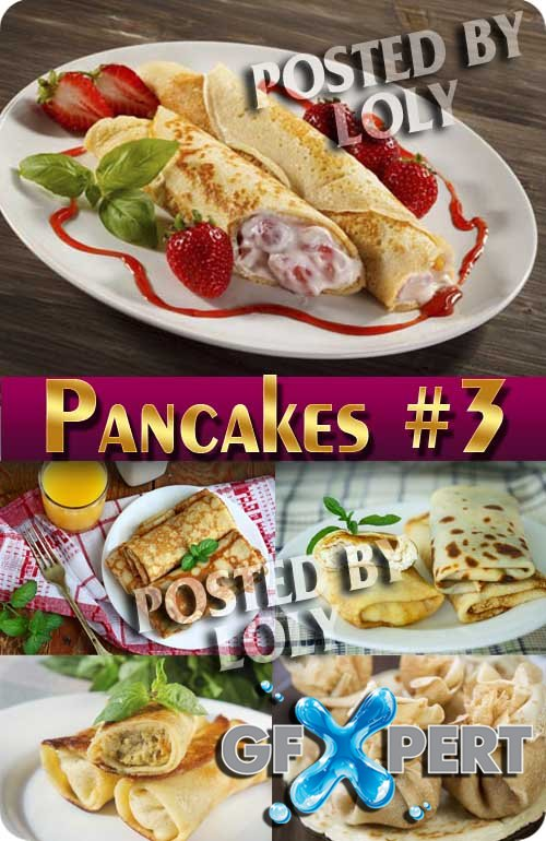 Pancakes and sweets #3 - Stock Photo