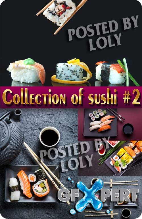 Food. Mega Collection. Sushi #2 - Stock Photo