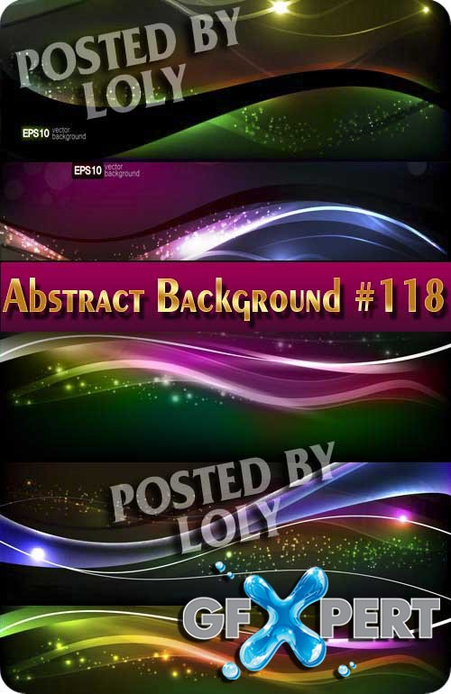 Vector Abstract Backgrounds #118 - Stock Vector