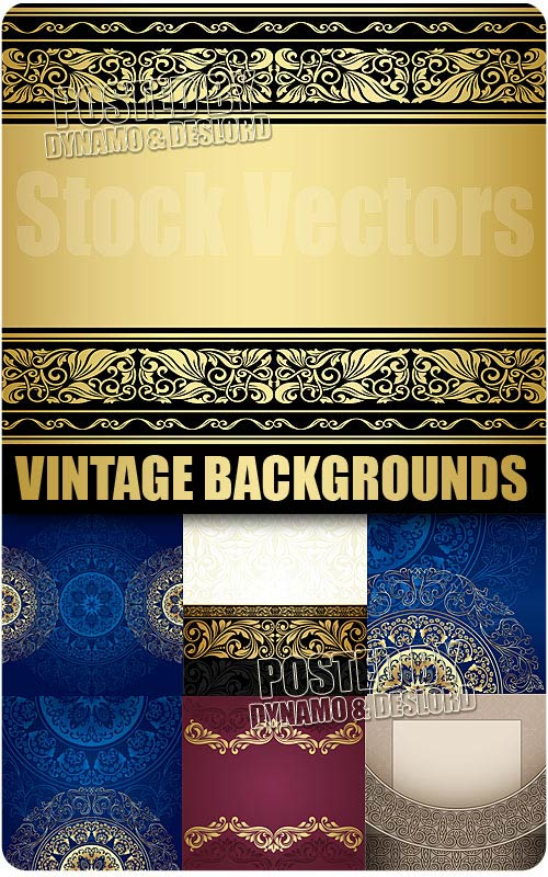 Vintage backgrounds - Stock Vectors