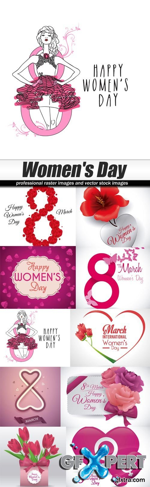 Women's Day - Stock Vector