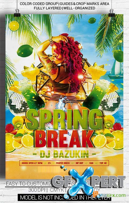 Flyer Template - Sexy Spring Break
