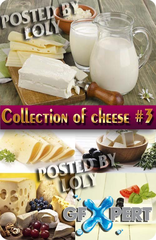 Food. Mega Collection. Cheese #3 - Stock Photo